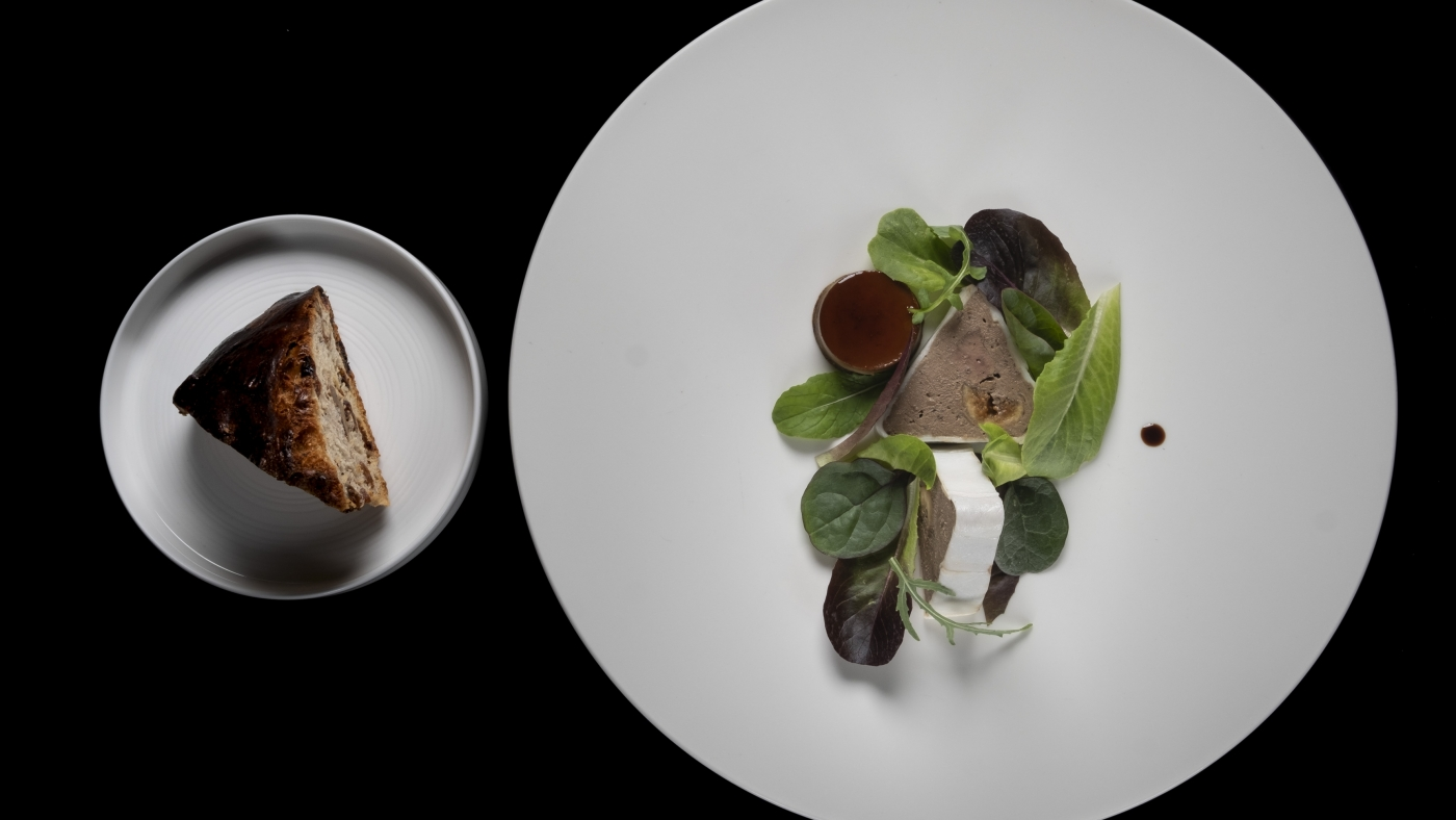 Un piatto dello chef